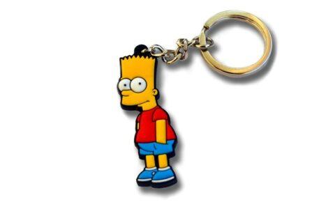 ПВХ брелок Барт Симпсон