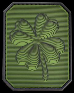 Шеврон на липучке, тактический патч клевер, ПВХ шеврон. PVC patch