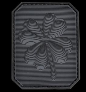 Шеврон на липучке, тактический патч клевер, ПВХ шеврон. PVC patch.